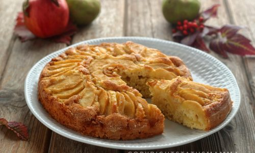 Torta di mele ricetta light
