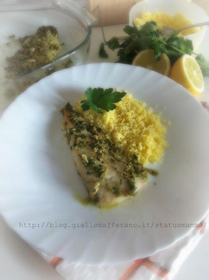 Filetto di merluzzo al verde | Status Mamma