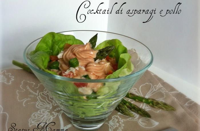 Cocktail di asparagi e pollo