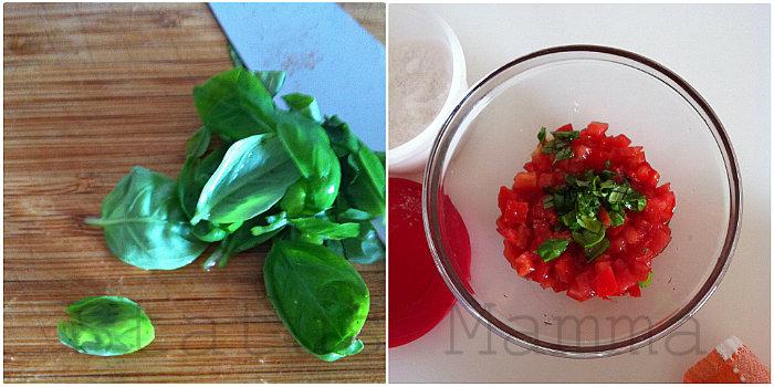 Pasta fredda farfalle pomodorini feta zucchine grigliate