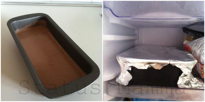 Gelato senza gelatiera al cioccolato facile ricetta dolci statusmamma cuicinare foto tutorial