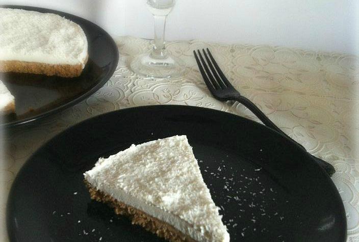 """Torta fredda di ricotta al cocco """" Coconut Cheesecake"""""""
