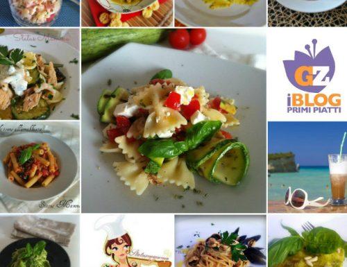 Raccolta ricette primi piatti di ferragosto 2013