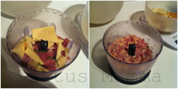 Polpettone di carne ai formaggi con salumi ricetta secondo antipasto veloce statusmamma Giallozafferano BlogGz ricetta cucinare food bloggerfood foto tutorial
