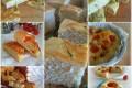 Raccolta di diverse ricette di focacce