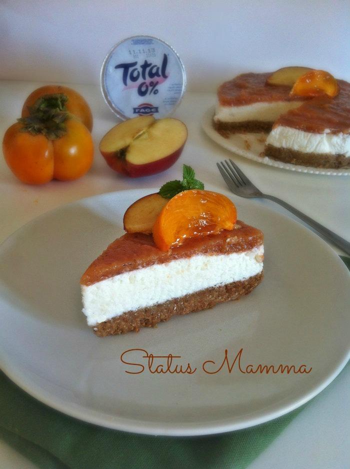 Cheesecake allo yogurt con miele ricetta dolce freddo Statusmamma speciale Fage Giallozafferano foto blog cucinare tutorial