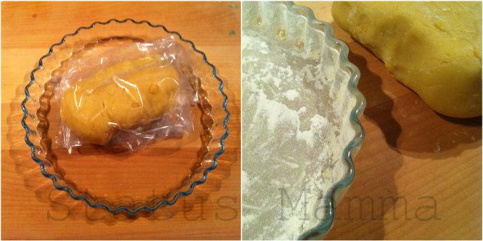 Crostata al pandoro ricetta cucinare avanzo riciclare Statumamma Giallozafferano foto blog blogGz foto tutorial dolci cioccolato