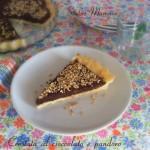 Crostata al cioccolato e pandoro