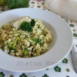 Risotto ai broccoli con provolone ricetta primo riso bambini veloce verdure blogGz Giallozafferano foto blog Statusmamma