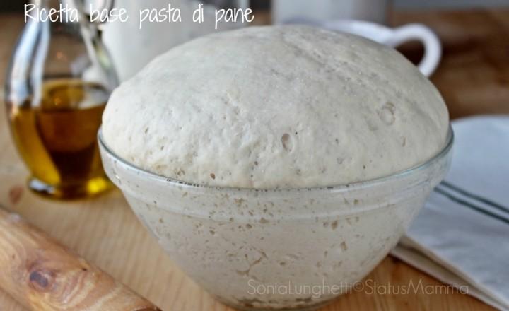 Ricetta base pasta di pane con lievito di birra