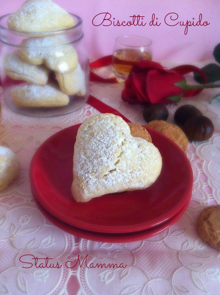 Biscotti di cucpido dolci dolcetti ricetta dolce Statusmamma blog tutorial cucinare ricetta tutorial blogGz Giallozafferano San Valentino