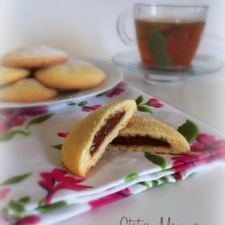 Biscotti semplici ripieni alla Nutella ricetta dolce Statusmamma blogGz Giallozafferano cucinare foto blog tutorial bambini colazione merenda