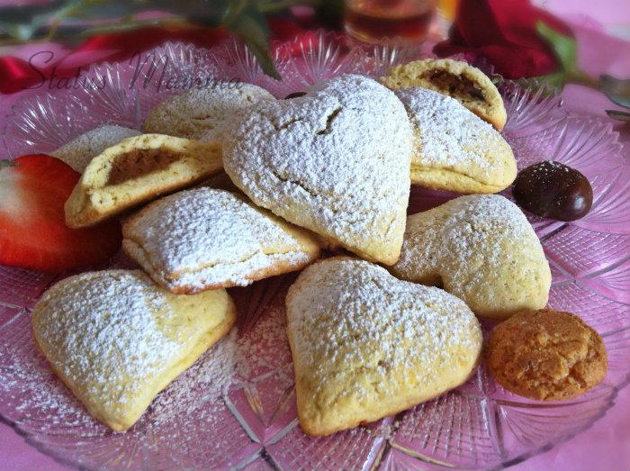 biscotti di cupido ricetta dolce san valentino