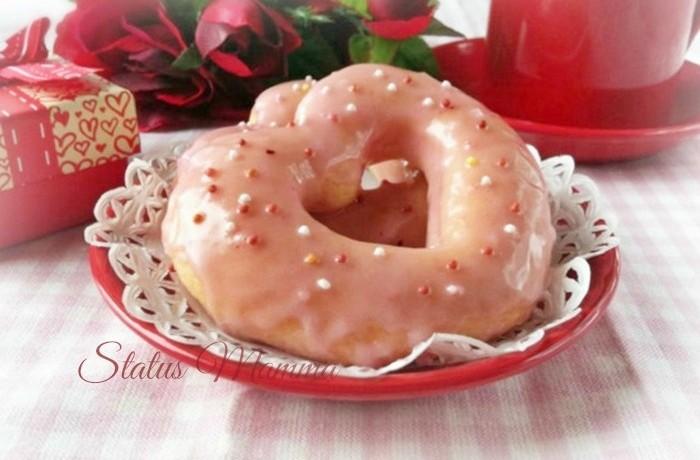Ciambelle a cuore cottura al forno, ricetta San Valentino