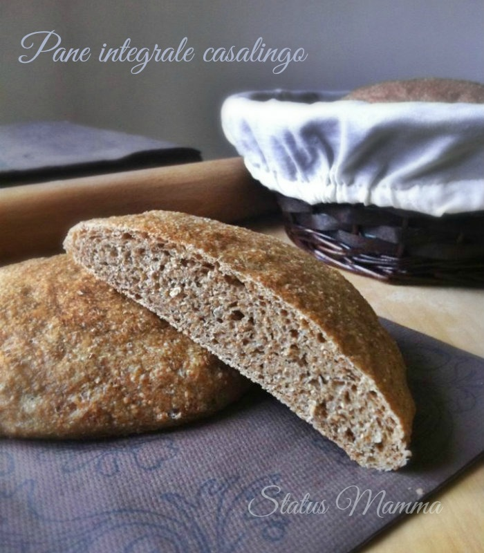 Pane integrale casalingo ricetta pane lievitati Statusmamma BlogGz Giallozafferano blogGz ricette cucinare passo passo foto tutorial recipes