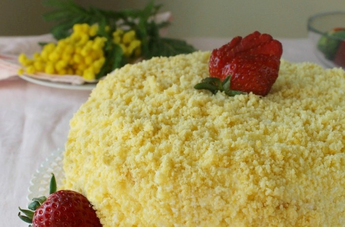 Torta Mimosa ricetta festa della Donna