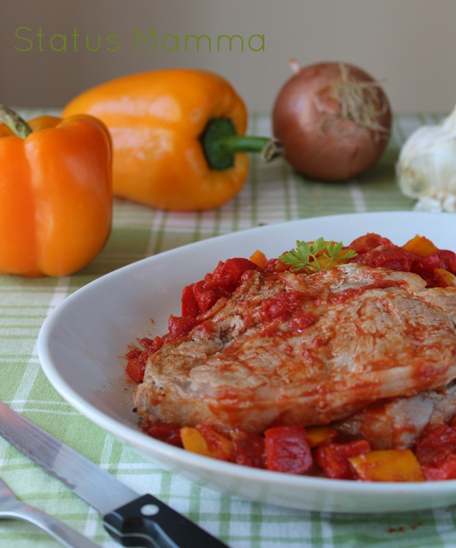 Nodino di peperoni Statusmamma secondo contorno blog blogGz Giallozafferano secondo ricetta cucinare