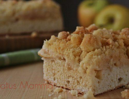Torta sbriciolata ricetta con mele