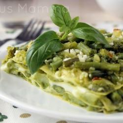 Lasagne al pesto ricco ricetta primo vegetariano Statusmamma Giallozafferano foto blog tutorial light facile economica veloce blogger blogGz