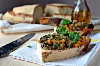 caponatina caponata verdure vegetariano blog cucinare ricetta Statusmamma Giallozafferano foto blog blogGz Tutorial facile economica veloce