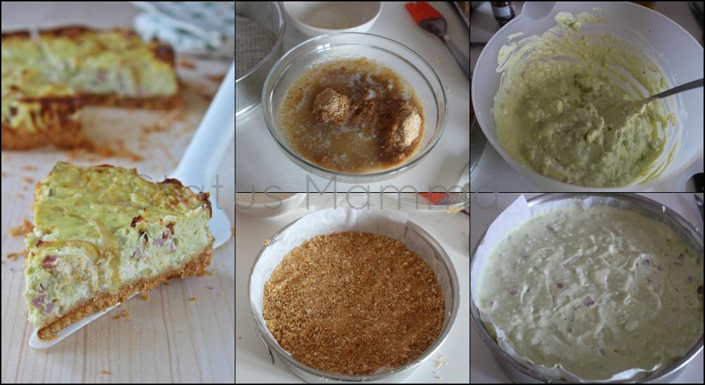 torta salata cheesecake cottura al forno salato antipasto stuzzichino pic nic serata tra amici veloce semplice economico Statusmamma blogGz Giallozafferano