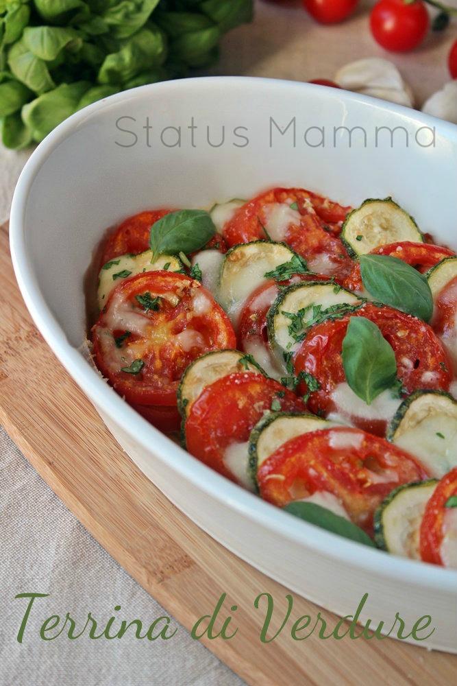 Terrina di verdure aromatica al basilico ricetta vegetariana contorno caldo statusmamma Giallzafferano blogGz secondo ricetta con foto cucinare facile veloce