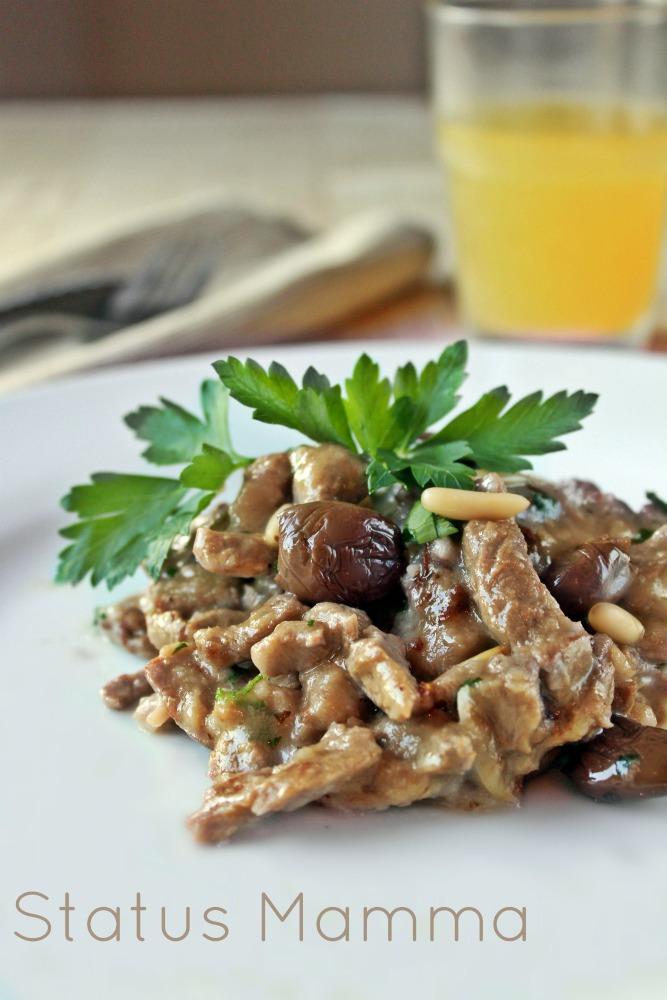 Straccetti di carne gustosi status mamma - Cucinare olive appena raccolte ...