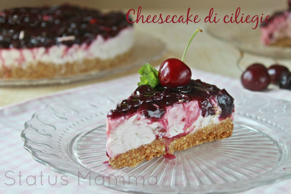 Cheesecake allo yogurt e ricotta - Chiarapassion