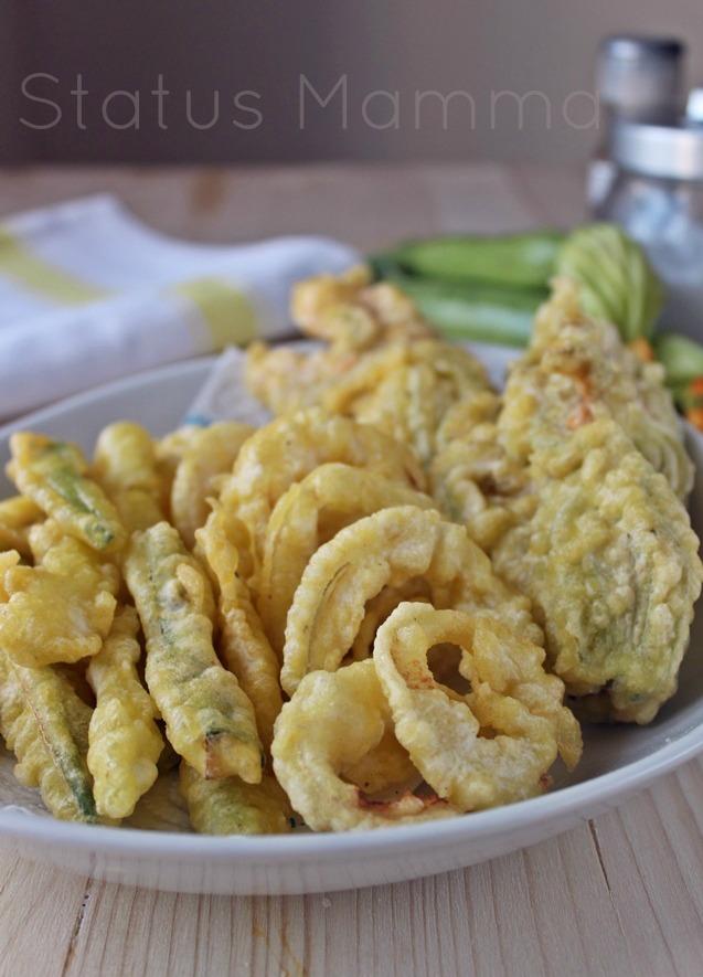 fritto misto vegetariano ricetta cucinare antipasto contorno statusmamma giallozafferano bloggz blog tutorial foto cucinare ricetta ricette