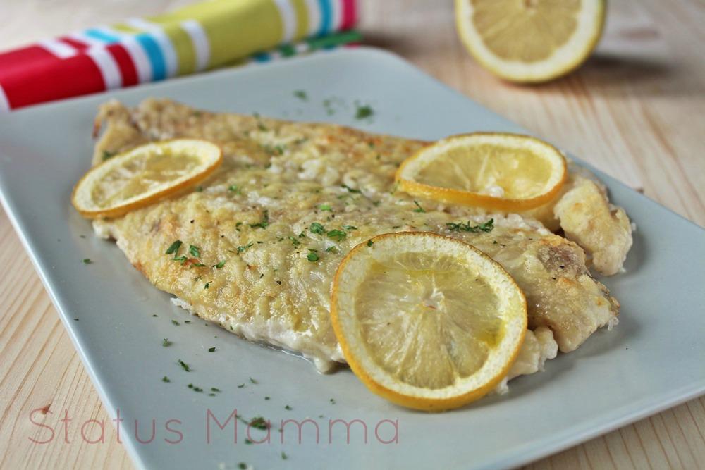 Persico al limone status mamma - Cucinare pesce persico ...