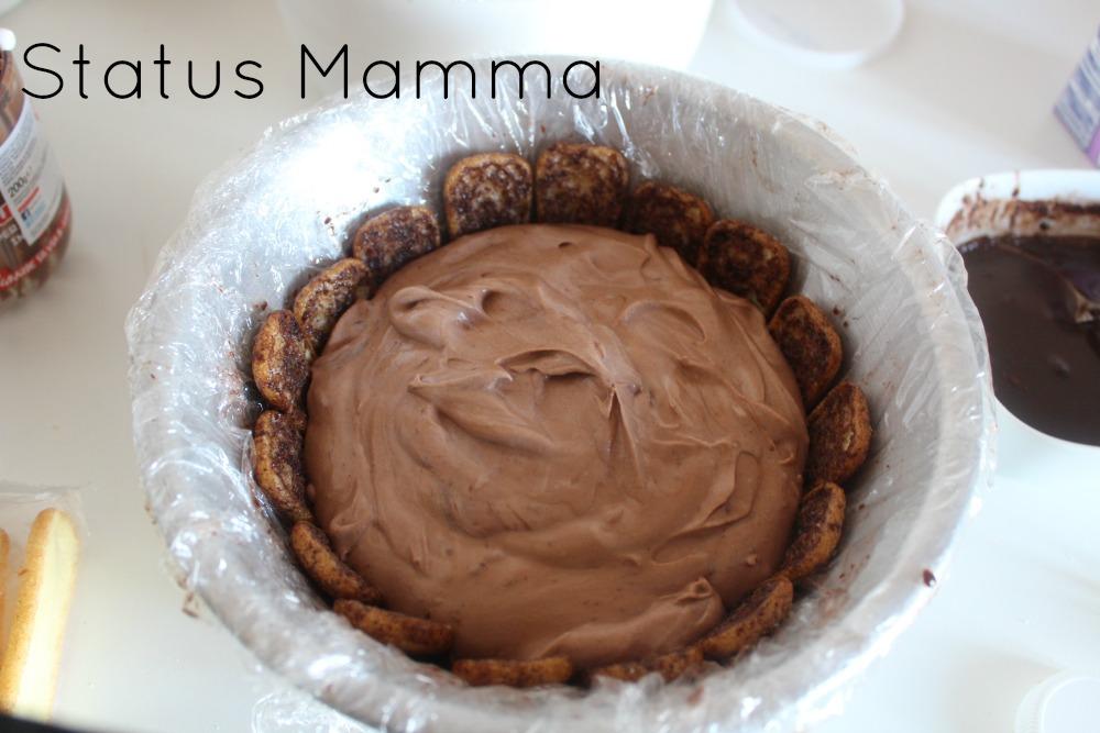 Charlotte di Pavesini alla Nutella ricetta dolce freddo semplice veloce Statusmamma Giallozafferano foto blog blogGz tutorial