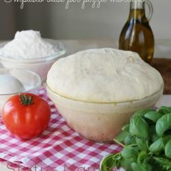 creme salate antipasti per capodanno Impasto base per pizza morbida ricetta lievitato con lievito madre Statusmamma blogGz Giallozafferano foto blogger tutorial