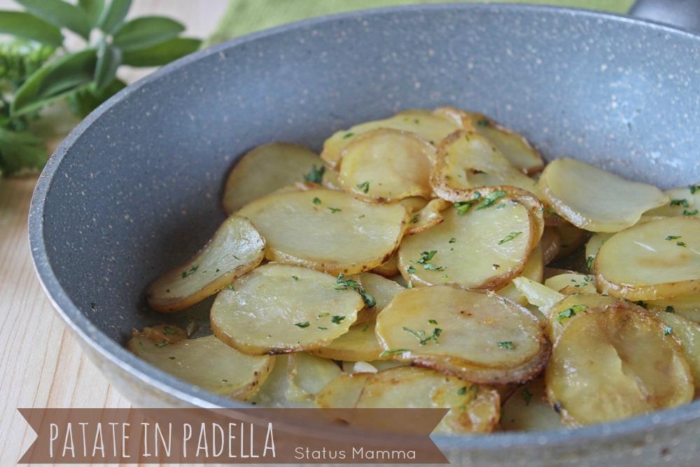 Patate in padella | Status Mamma