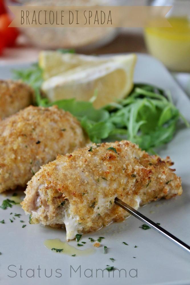 braciole di spada gustose ricetta cucinare secondo statusmamma blogGz giallozafferano foto blog tutorial passo passo economico facile messina messinese