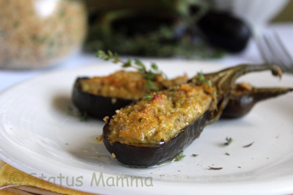 melanzane piccole ripiene alla genovese | status mamma - Come Cucinare Le Melanzane Ripiene