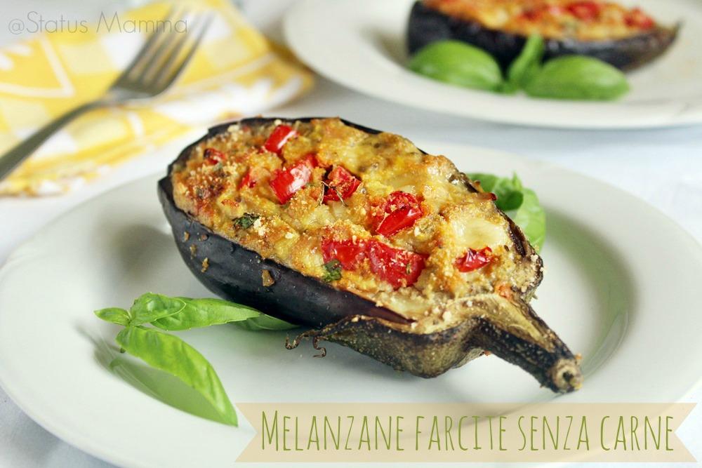 melanzane farcite senza carne al forno | status mamma - Come Cucinare Le Melanzane Ripiene