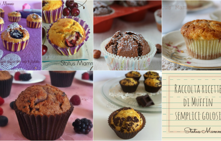 Raccolta ricette di Muffin semplici golosi