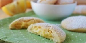 Biscotti farciti al limone simil Grisbi