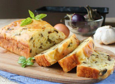 Plumcake di melanzane e fontina gustoso