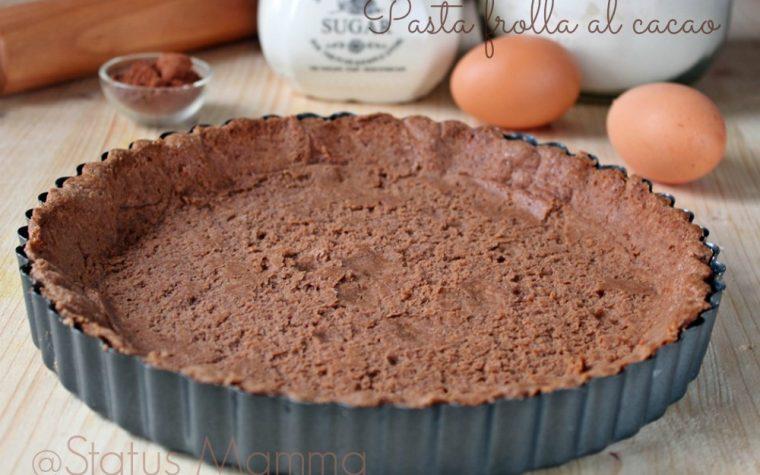 Pasta frolla al cacao ricetta base