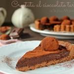 Crostata al cioccolato tartufata