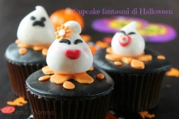 Cupcake fantasmi di Halloween
