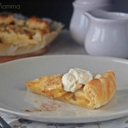 RICETTE CON LA FRUTTA cosa cucinare a marzo Torta di mele facile con sfoglia Statusmamma dolce colazione merenda bambini semplice Giallozafferano blogGz foto tutorial cucina ricette