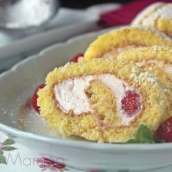 Rotolo con crema ai lamponi ricetta semplice facile economica Statusmamma blogGz Giallozafferano colazione merenda