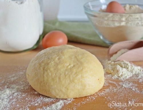 Impasto base pan brioche con semola soffice