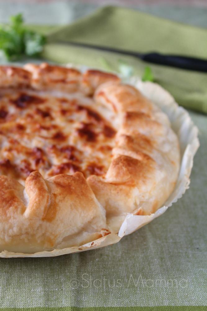 torta salata svuota frigo con besciamella giallozafferano Statusmamma blogGz antipasto secondo pic nic fingerfood foto