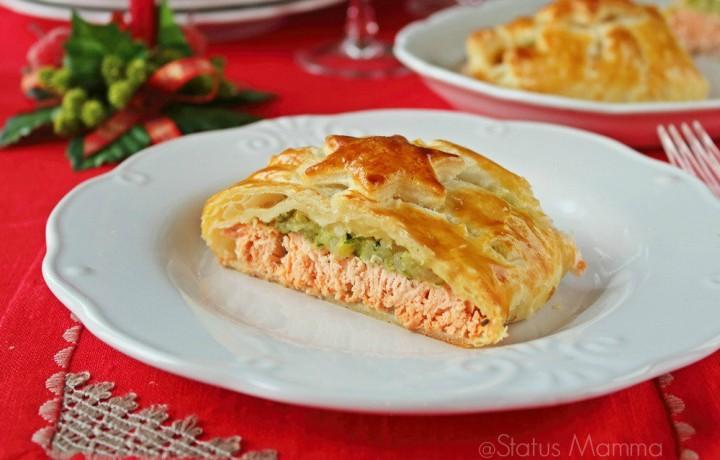Salmone in crosta ricetta di Natale