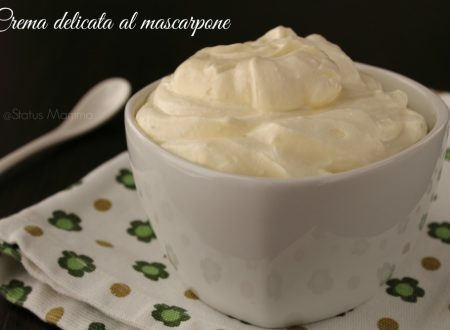 Crema delicata al mascarpone