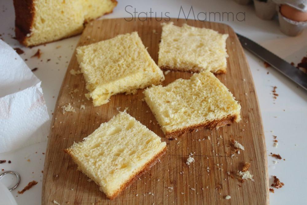 French toast ricetta dolce colazione merenda riciclo pane pandoro panettone pan carre pandolce Statusmamma semplice veloce economico