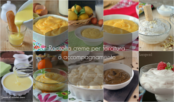 raccolta creme farcitura semplici veloci fredde clade dolci frosting Statusmamma Giallozafferano foto blog tutorial